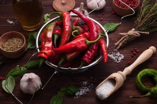 peppers for veins